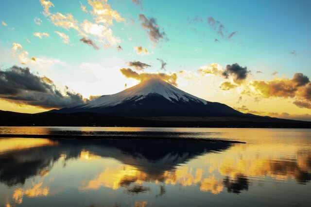 Pemandangan indah Motosuko