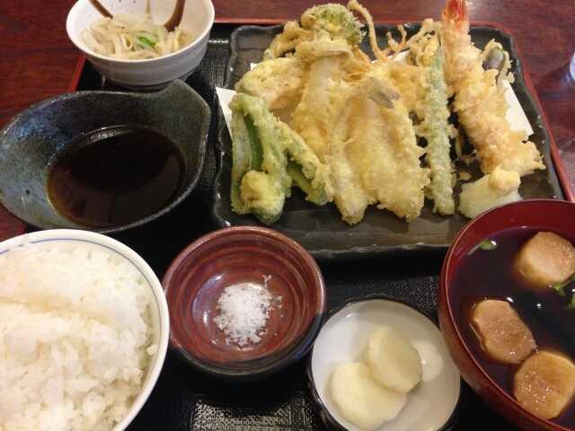 tempura teisyoku