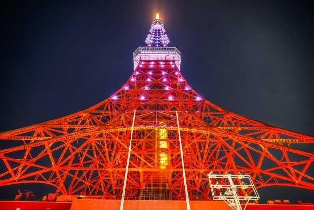Tempat wisata di Tokyo Tokyo tower