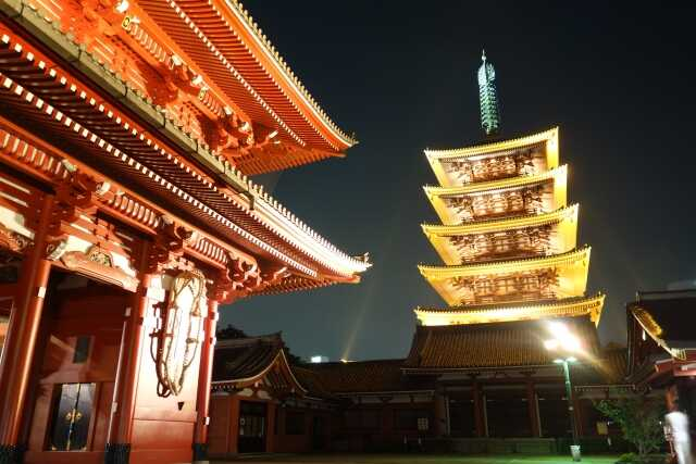 Tempat wisata di Tokyo Sensoji