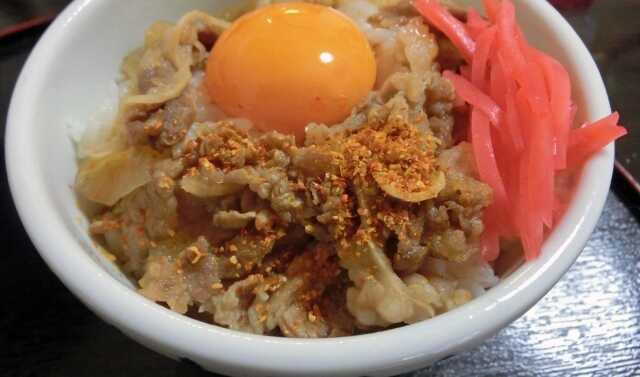 Makanan Jepang Gyudon