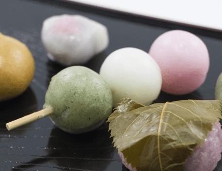 masak Mochi Jepang! dango 3warna