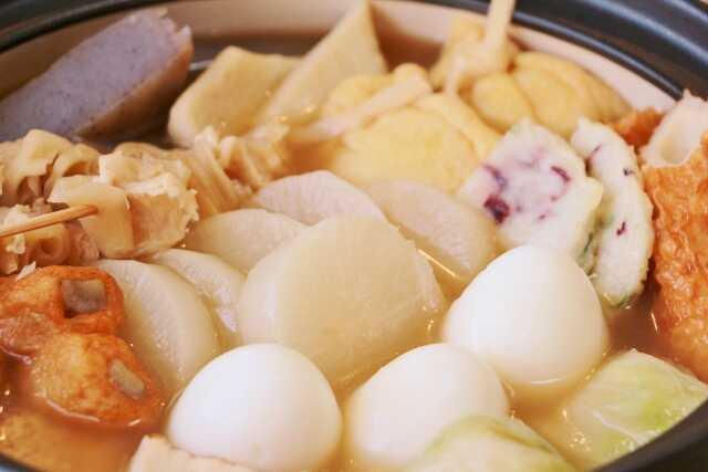 musim dingin makanan lezat di jepang