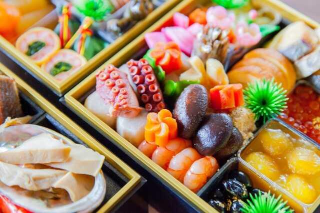 tahun baru di Jepang! osechi ryouri
