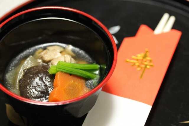 Tahun baru di Jepang! ozouni