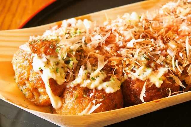 OTW street food di Jepang ! Takoyaki