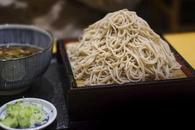 Tahun baru di Jepang ! makan mie