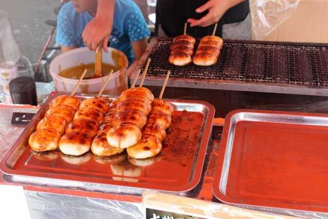OTW street food di Jepang Yakimanju