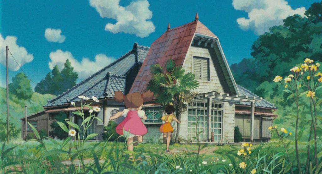 totoro rumah satuki dan mei