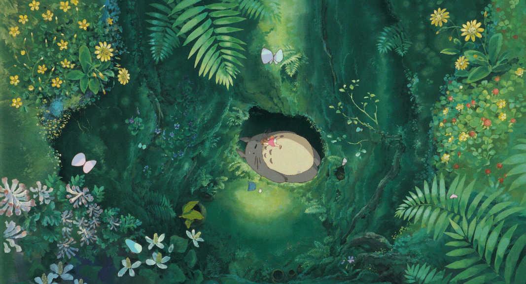 bisa bertum Totoro ?!