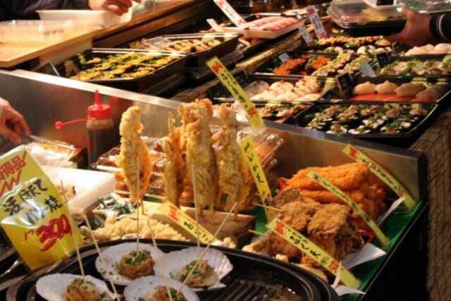 distrik perbelanjaan makanan murah dan enak