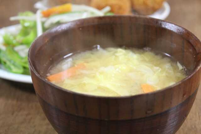 cara membuat miso soup Kol