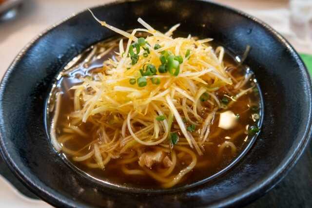 makanan jiwa jepang Negi ramen