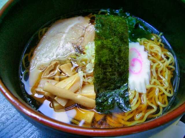makanan jiwa jepang Shoyu Ramen