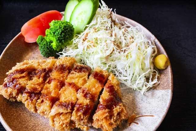 Tonkatsu makanan jepang Wasyoku