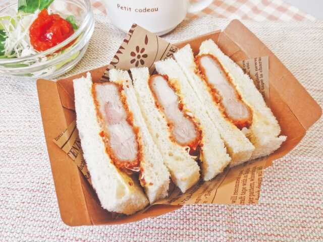 Roti khas Jepang Katu sand