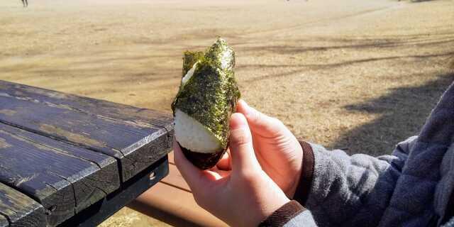 makan onigiri
